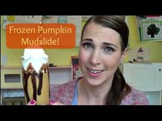FRIDAY!!! And we're celebrating with a frozen pumpkin mudslide!
