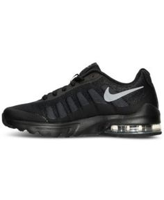 b7cb43e8c7 Nike Big Boys' Air Max Invigor Running Sneakers from Finish Line & Reviews  - Finish Line Athletic Shoes - Kids - Macy's