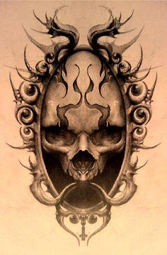 dark mirror by AndreySkull