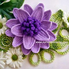 Full of Color Cabbage Flowers - Tutorial | Beautiful Skills - Crochet Knitting Quilting | Bloglovin'