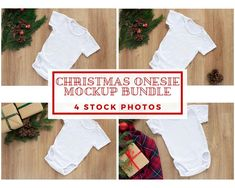 DETAILS  This listing is for 4 Styled Christmas Onesie Mockup (landscape oriented) which you can use to showcase your artwork or design in your shop.  ・Files are high resolution (300 DPI)  ・Most of the images are around 4000x6000 pixels (few will be smaller, minimum 3400x5100, still high resolution)