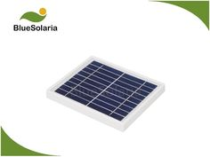 BlueSolaria's small solar panel is laminated with tempered glass. This solar panel adopts efficient poly solar cell. It is perfect for DC battery. Small Solar Panels, Portable Solar Power, Water Systems, Plastic, Frame, Glass, Outdoor Decor, Picture Frame, Drinkware