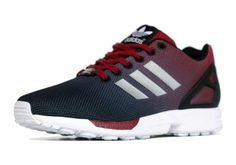 "adidas ZX Flux ""Gradient"" – Cardinal Red – Black"