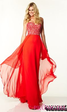 Strapless Sweetheart Mori Lee Prom Dress $199