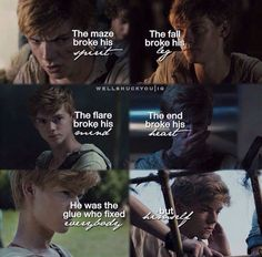 So sad that he is gonna die in the movie too :( he always makes me sad on pictures like that :((