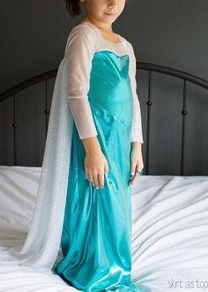 elsa costume // skirt as top