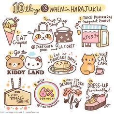 Must-do's in harajuku, roppongi, Osaka, Kobe & Kyoto and more!