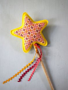 Star Wand. $16.00, via Etsy. Nursery Rhyme Party, Nursery Rhymes, Star Wand, Twinkle Twinkle Little Star, Nifty, Wands, Party Themes, Stars, Sewing