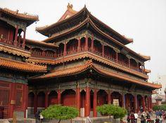 Lama Buddhist temple in Beijing