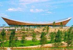 El Velódromo Olímpico de Londres fue distinguido como el mejor edificio del año en el Reino Unido por los premios AJ 100. Es un diseño de Hopkins Arquitects.