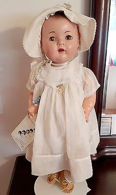 "Anitque Madame Alexander Composition Doll Dionne Quintuplet LARGE 24"" Marie 30s"