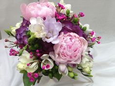 Purple Pink and White | by dohertysflowers44