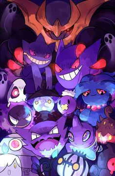 Ghost type gang!