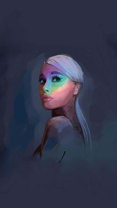 Ariana Grande Drawings, Ariana Grande Fotos, Ariana Grande Photoshoot, Ariana Grande Outfits, Ariana Grande Background, Ariana Grande Wallpaper, Adriana Grande, Girly Drawings, Celebrity Drawings
