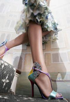 Zapatos para novia Fendi