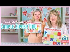 How to Sew a Simple Zipper Bag! Featuring Sherri McConnell and Kimberly Jolly of Fat Quarter Shop - YouTube