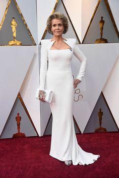 Jane Fonda. Oscars 2018 #Oscars #alfombraroja #redcarpet