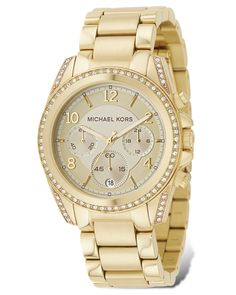 This Michael Kors watch is an amazing accessory and a must have if you own a collection.
