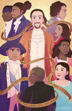 Hamilton: The musical Musical Theatre, Theatre Nerds, Theater, Hamilton Poster, Hamilton Comics, Kurt Cobain, Hamilton Drawings, Overwatch, Hamilton Wallpaper