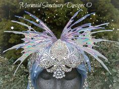 Fairy headpiece fairy wing headpiece fairy by MermaidSanctuary