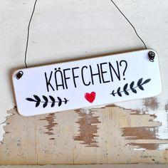 Tür- & Namensschilder - Holzschild im Shabby Chic mit der Aufschrift ... - ein Designerstück von Shabbyflair-Decorations bei DaWanda