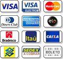 Compre com seu cartão de crédito a preço de atacado