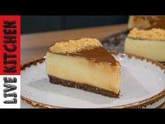 Νηστίσιμο Γλυκό για όλη την Οικογένεια!!! Vegan Vanilla pudding dessert recipe - Live kitchen - YouTube Strawberry Cheesecake, Kitchen Living, Nutella, Mousse, Vegetarian Recipes, Deserts, Pie, Ice Cream, Pudding