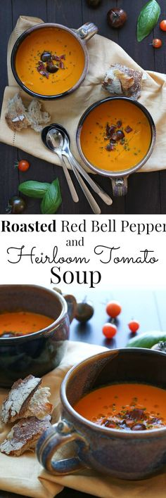 Rich and nourishing, this vegan soup is a comforting transition to Fall  | Vanilla And Bean