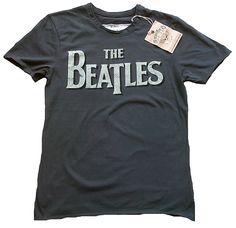 Rockabilly Amplified Vintage Men T Shirt The Beatles Rock N'roll - Tees