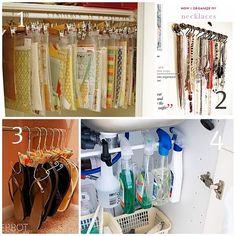 hanging/organizing ideas