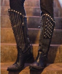 "Boots - Lane/DD Ranchwear Boots - LANE~DD RANCH ""KILLA FLAG"" BOOTS! - Cowgirl Fashion - DoubleDRanchwear