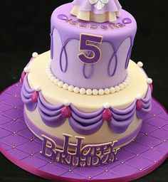 Sofia The first Cake (#2 PaisLeigh bday)