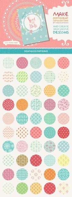 Polka Dots//Cercle Vinyle Autocollant 24 x 100 mm toute couleur!