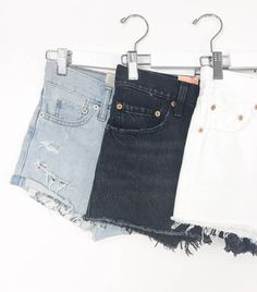 Levi denim shorts: A must have in every girls closet! Available In store and online #shopmaude