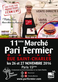 11ème Pari Fermier rue Saint Charles (Paris 15ème)