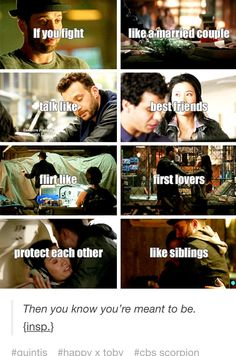 I need to find someone who fits this criteria.does anyone want to be the Toby to my Happy.or do I want the Sylvester to my Megan.either way they're beautiful as couples xxx Scorpion Quotes, Scorpion Tv Series, Newest Tv Shows, Favorite Tv Shows, My Favorite Things, Series Movies, Movies And Tv Shows, Jadyn Wong, Criminal Minds