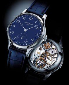 Patek Philippe [NEW] Tourbillon Blue Grand Complications 5539G-010 Watch at HK$4,680,000.   #PATEK #PATEK5539G #PATEKPHILIPPE5539G #PATEKPHILIPPE