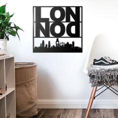 Deccort | London Metal Tablo Metal, London, Home Decor, Homemade Home Decor, Big Ben London, Metals, Interior Design, Home Interiors, Decoration Home