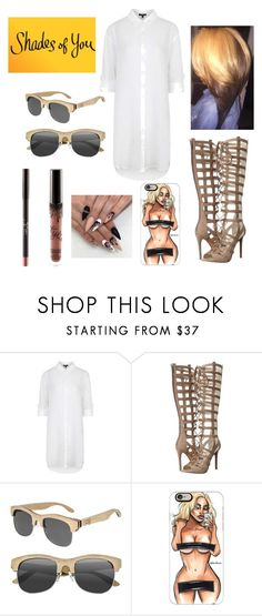"""Shades of You: Sunglass Hut Contest Entry"" by therealporshamarie ❤ liked on Polyvore featuring Topshop, Kendall + Kylie, Earth, Casetify, JUST DON and shadesofyou"