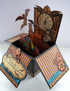 Pop Up Box Card | Back with another little Pop Up Box Card. In my last post I explained ...