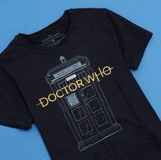 LOOK! A New Logo! // Doctor Who New Logo T-Shirt Hot Topic Exclusive