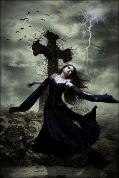 The Dance Dark gothic art Gothic fantasy art Beautiful dark art