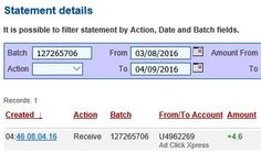 AdClickXpress #16 Proof of My Withdrawal I am getting paid daily at ACX. This is not a scam and I love making money online with Ad Click Xpress. I can withdraw daily. Online income is possible with ACX, who is definitely paying - no scam here. I WORK FROM HOME less than 10 minutes and I manage to cover my LOW SALARY INCOME. If you are a PASSIVE INCOME SEEKER, then AdClickXpress (Ad Click Xpress) is the best ONLINE OPPORTUNITY for you.