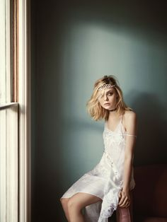 Elle Fanning by Boo George for Vogue Australia March 201