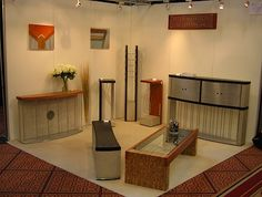 Simple and elegant artisan's display