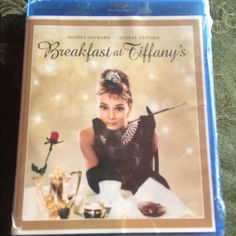 Breakfast At Tiffany's Blue Ray DVD. NEW SEALED Breakfast At Tiffany's Blue Ray DVD. NEW SEALED. Great classic to add to your collection. Audrey Hepburn.  NWOT. You are welcome to Look in closet to bundle. No brand Other