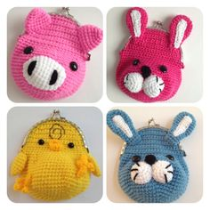 tejido on Pinterest | Amigurumi, Crochet Necklace and Crochet Bags