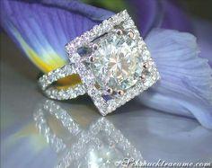 High-end Diamond Solitaire Ring » Juwelier Schmucktraeume.com