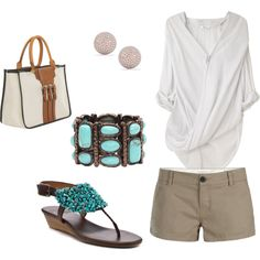 beach outfit..tote optional