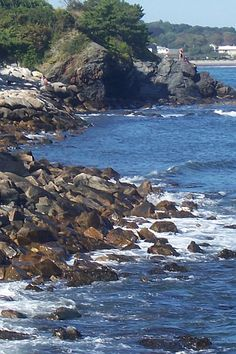 view from the cliffwalk...Newport RI    #VisitRhodeIsland